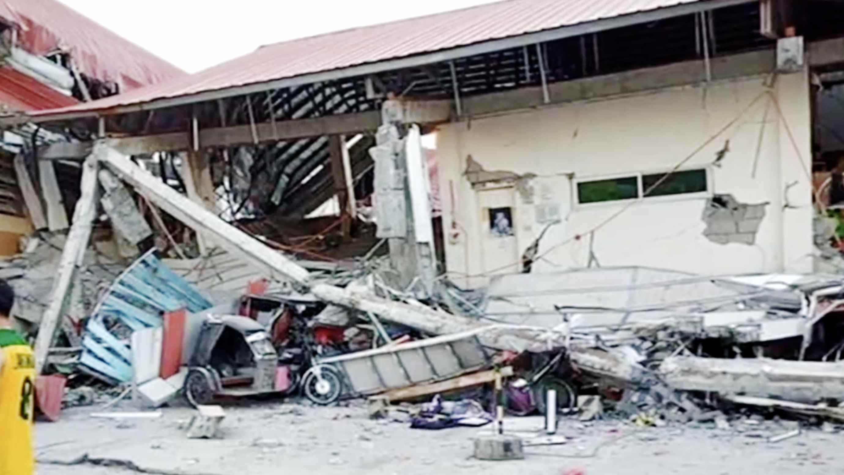 Death toll from Monday's Philippine earthquake rises to 16