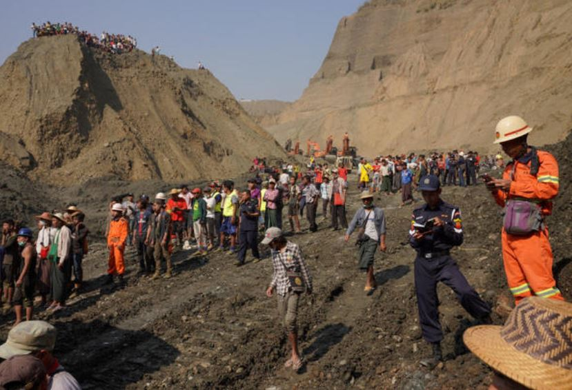 54 jade miners missing in Myanmar's northernmost state