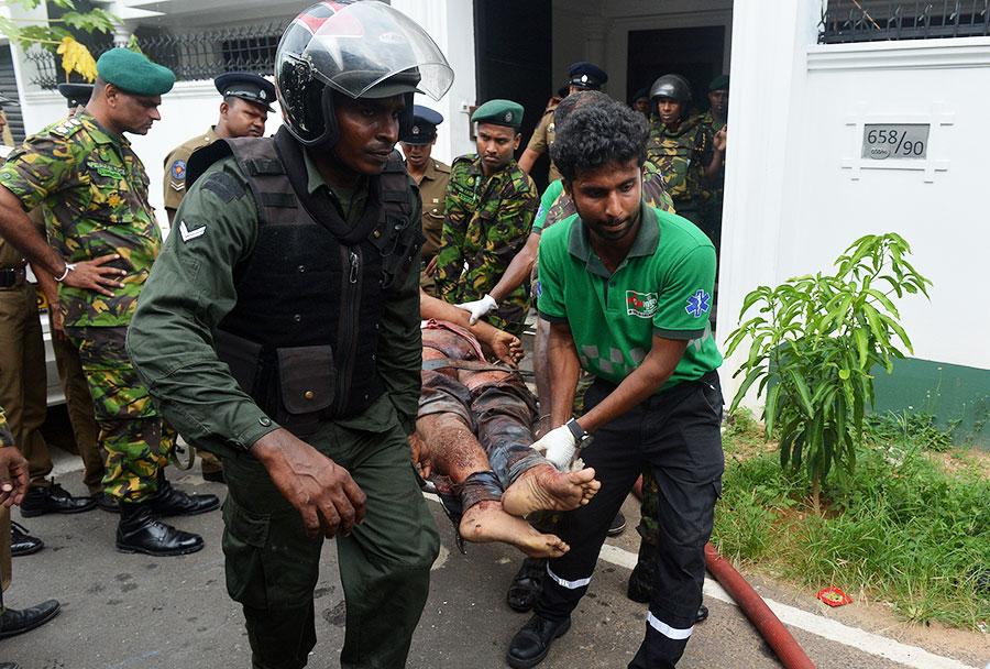 Sri Lanka blasts a challenge to all nations