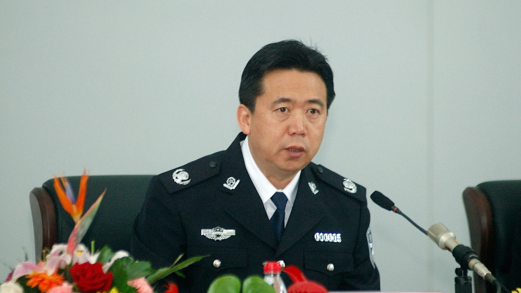 Former senior public security official arrested for bribery