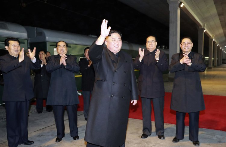 DPRK's Kim arrives in Russia's Vladivostok for meeting with Putin