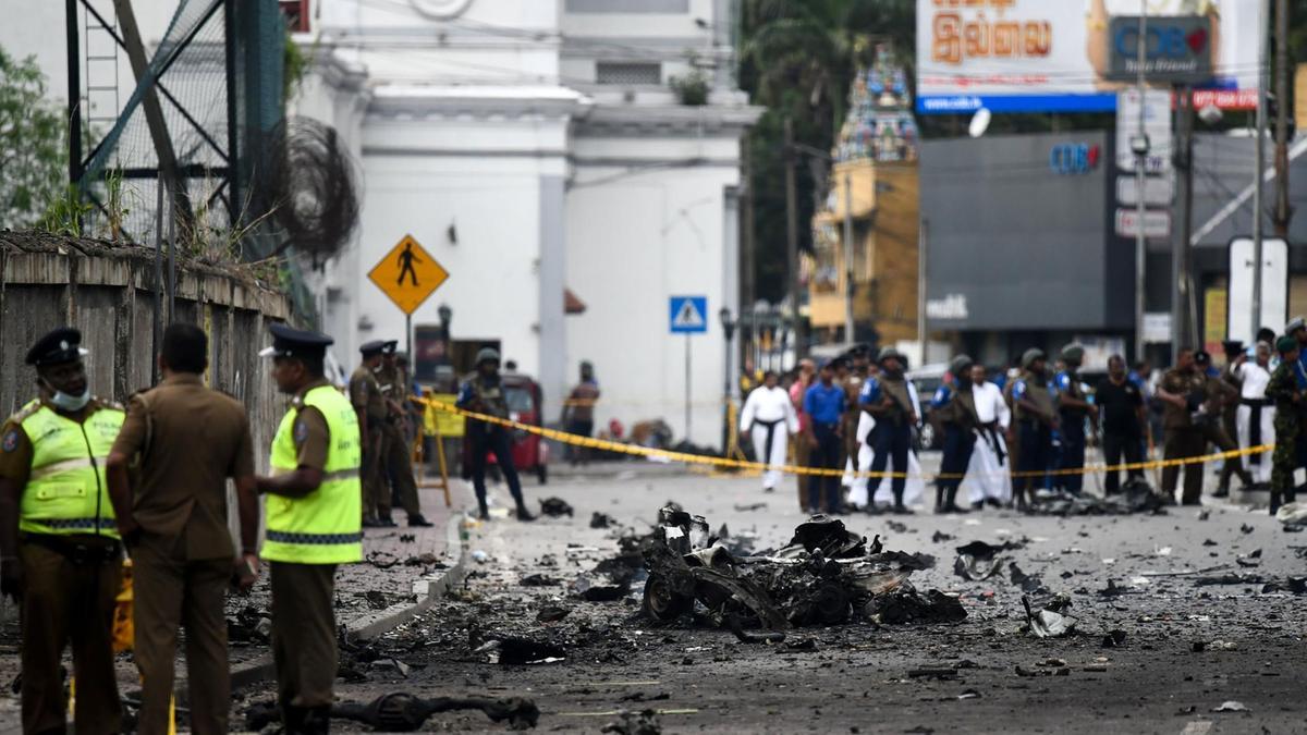 Minor explosion reported east of Sri Lankan capital