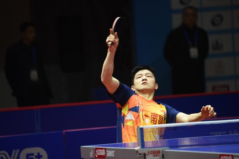 World No. 1 Fan knocked out of table tennis worlds