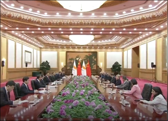 China, Cyprus sign Belt and Road cooperation document