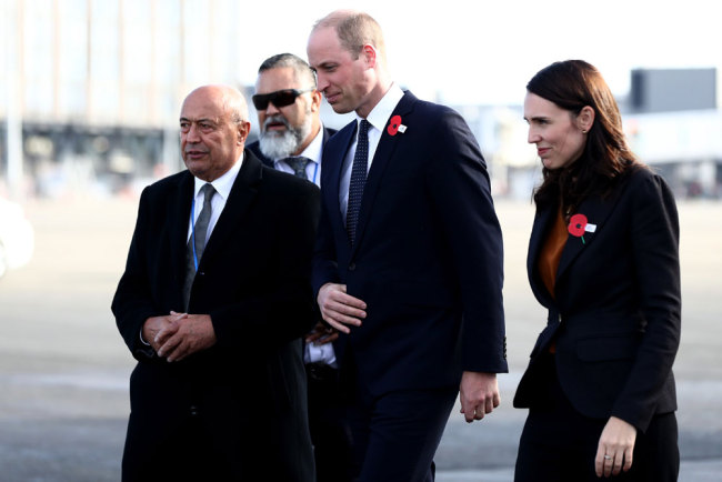 Britain's Prince William honors war, mosque attack victims in New Zealand