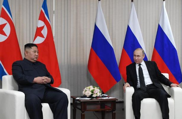 Putin, Kim hold 'fruitful' talks on Korean Peninsula nuclear issue, bilateral cooperation