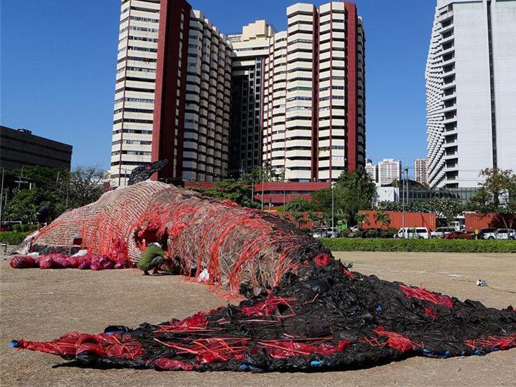 Philippine art installation calls for environmental preservation