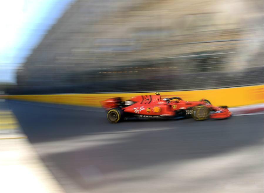 In pics: practice session of 2019 Azerbaijan Grand Prix