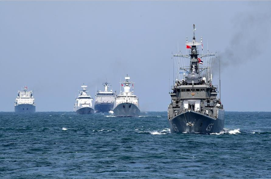 China conducts joint naval exercise with Southeast Asian countries in Qingdao