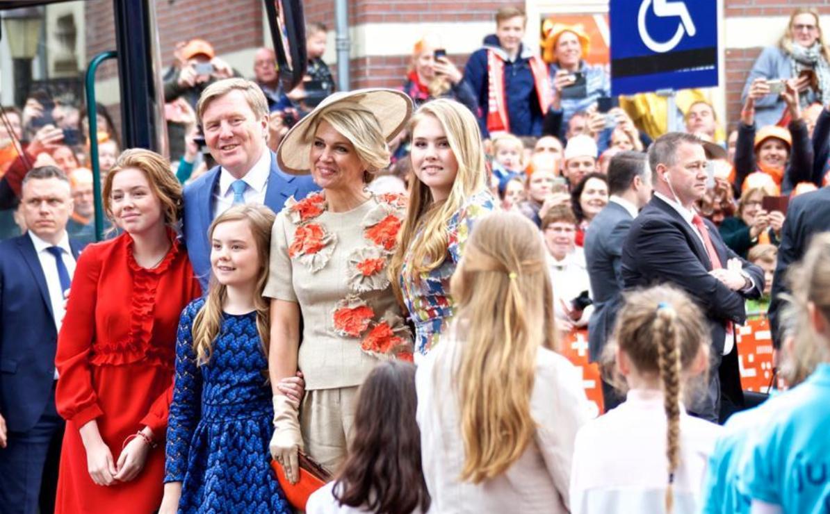 Dutch King Willem-Alexander attends King's Day celebration in Amersfoort