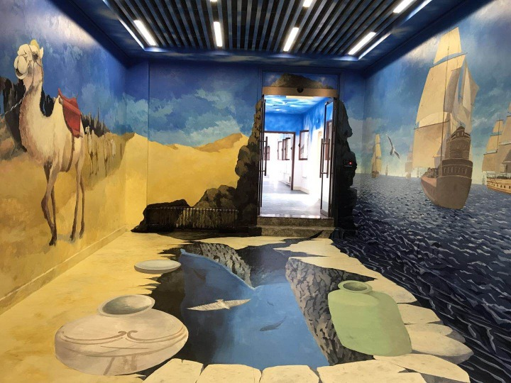 Beijing Belt and Road experience center opens to public