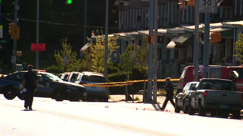 Police: 7 shot, 1 fatally, in latest Baltimore violence