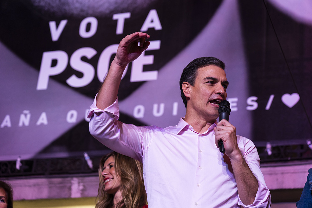"""Spanish Socialist Party to form """"pro-European"""" government after victory in general election"""