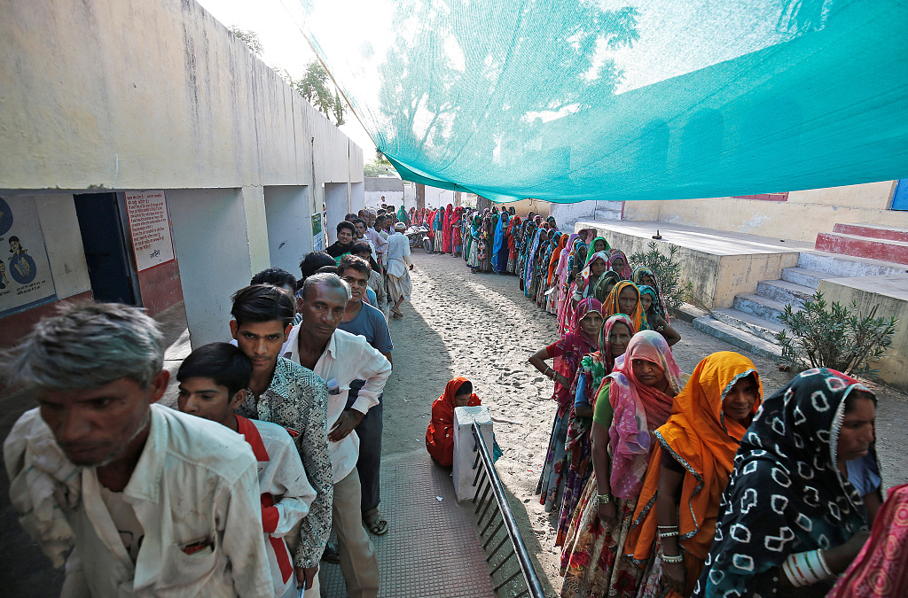 Indians vote in fourth phase of general elections