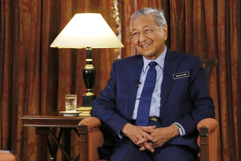 Belt and Road Initiative benefits all participants: Mahathir