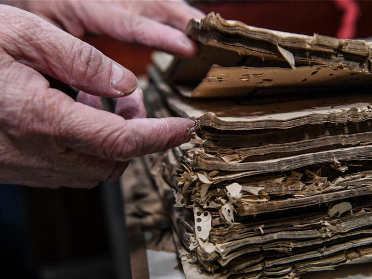 Book repairers breathe life into fading culture
