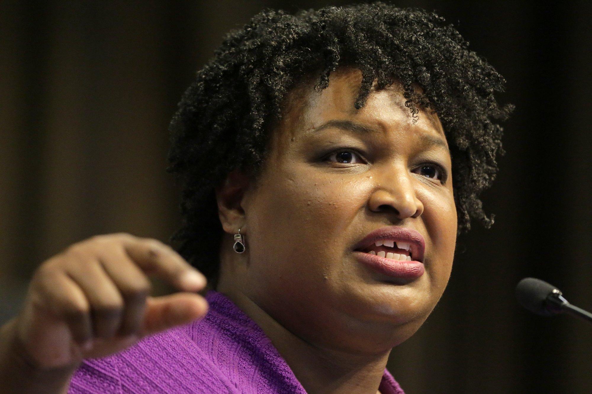Georgia Democrat Stacey Abrams won't run for US Senate in 2020