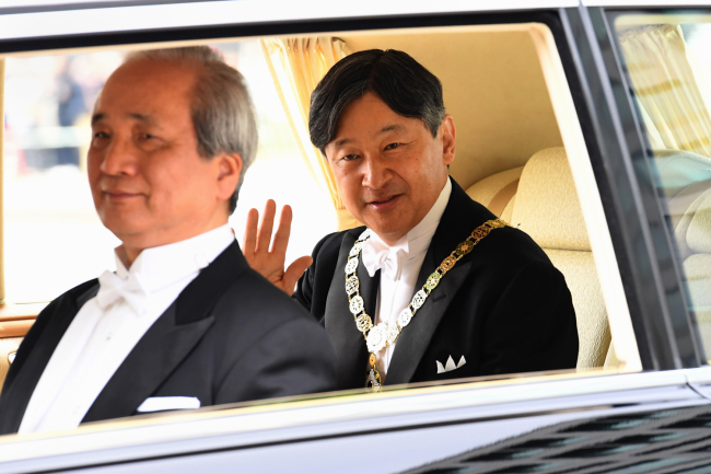 Japan's new Emperor Naruhito ascends Chrysanthemum Throne