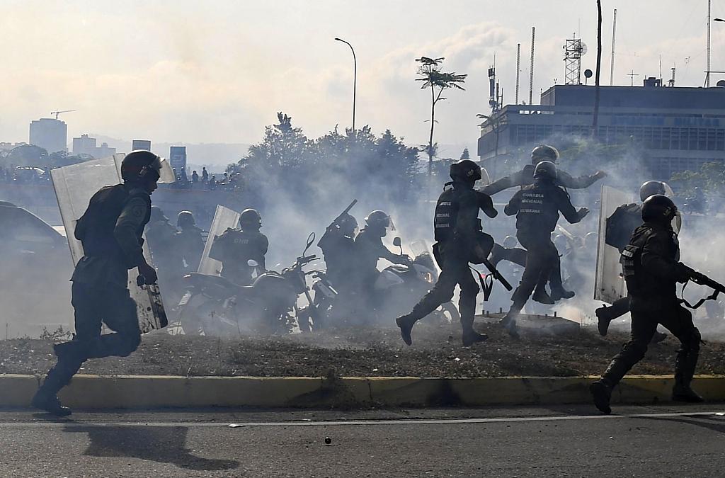 Venezuelan gov't thwarts attempted coup