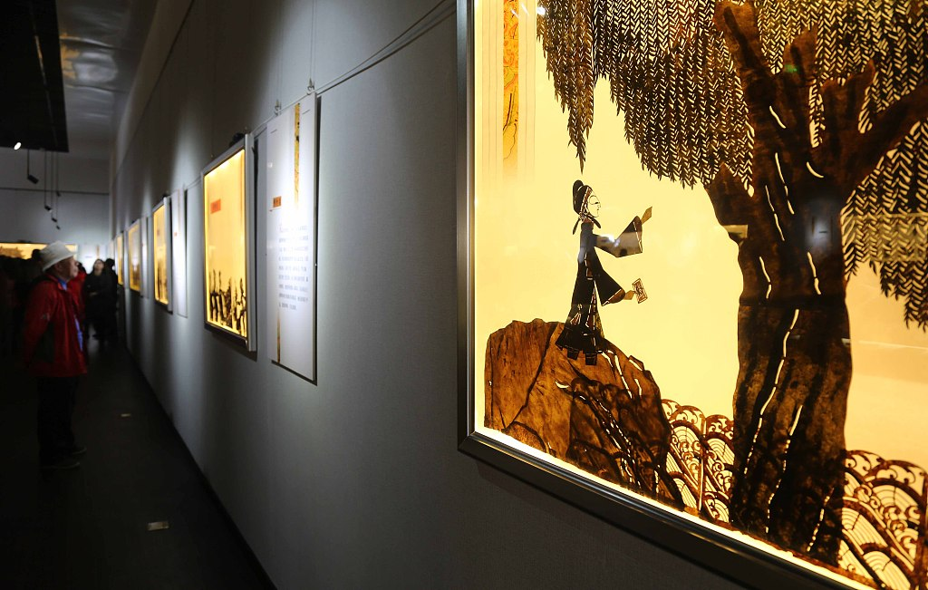 China's first shadow puppetry theme park opens