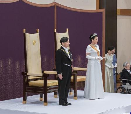 Xi congratulates Naruhito on succession as Japan's new emperor