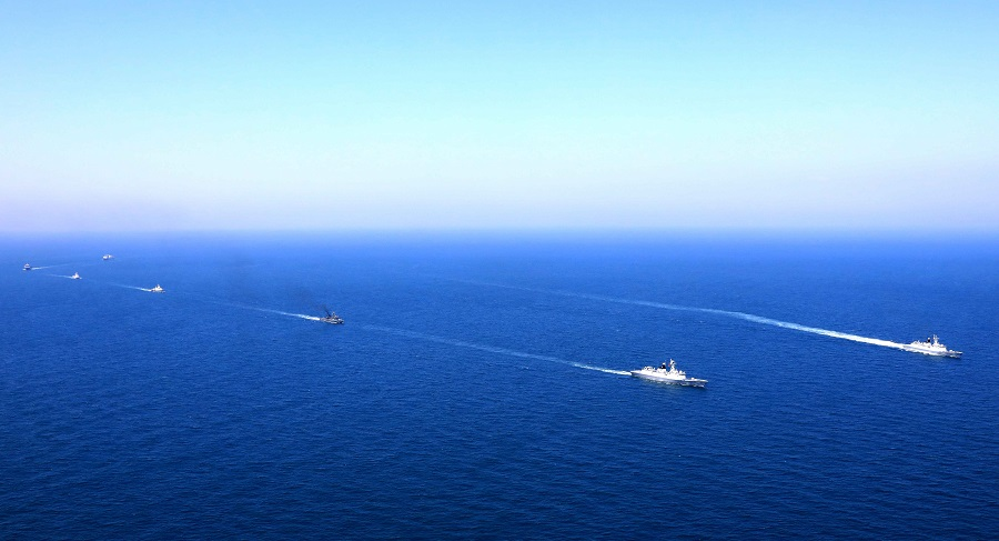 China, Thailand launch joint naval training