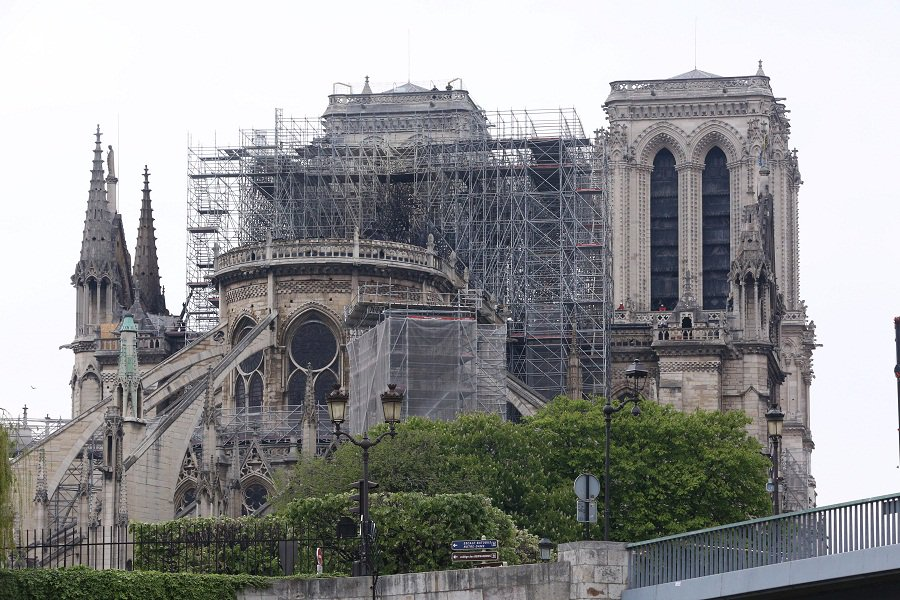 French gov't mulls new measures to protect landmark monuments after Notre Dame blaze: minister