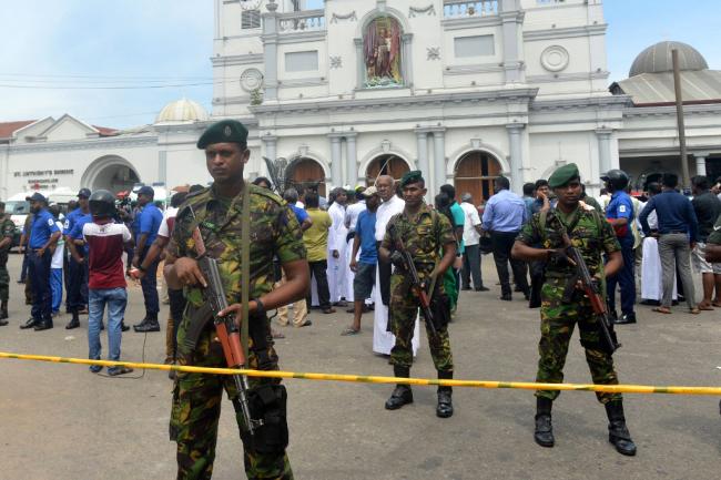 Sri Lanka names Easter suicide bombers