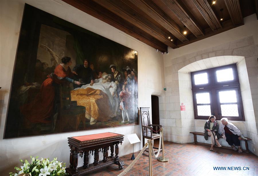 500th anniv. of Leonardo da Vinci's death marked in France