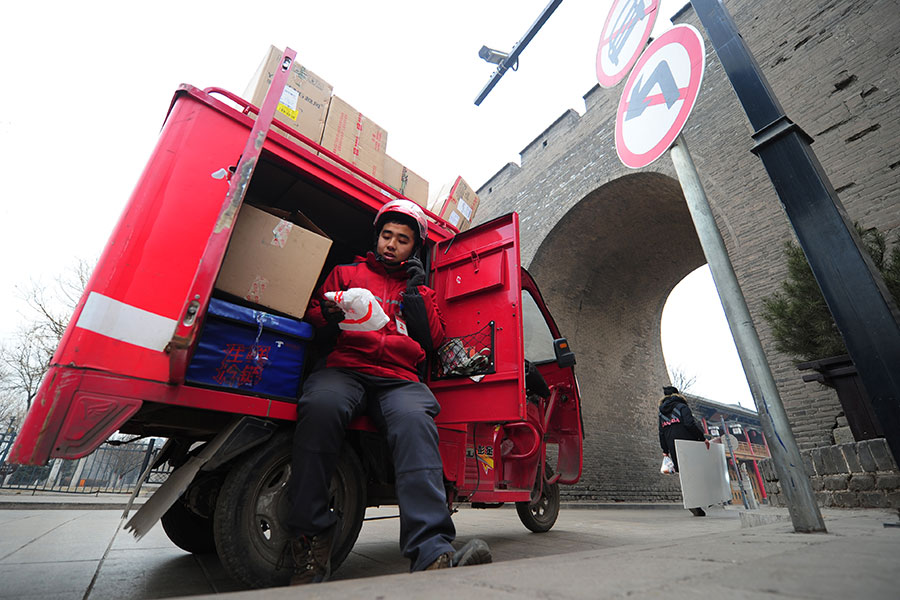 China logistics sector posts steady growth in Q1