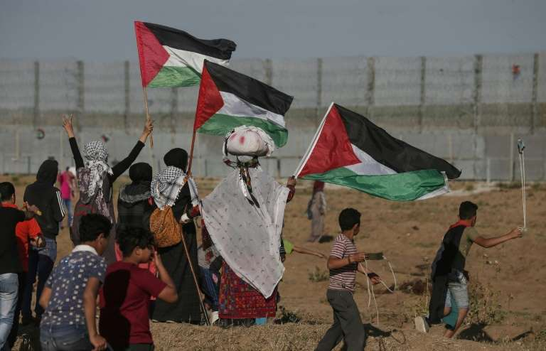 Three Palestinians killed in Gaza after army says soldiers wounded