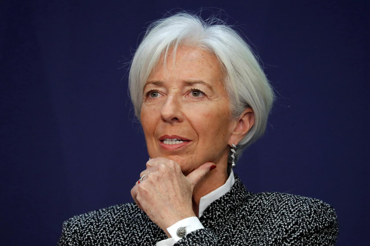 IMF chief urges countries to meet commitment of Paris climate deal