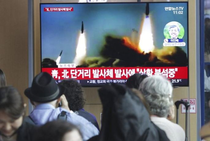 S.Korea expresses worry over DPRK's short-range projectile launches