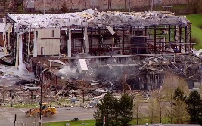 3 believed dead, 4 hurt in Illinois silicone plant explosion