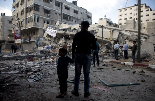 Eight Palestinians killed and one Israeli dead in the latest round of conflict