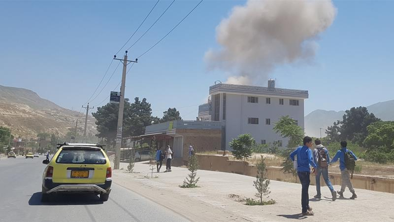 Explosion rocks outside police station in N. Afghan province