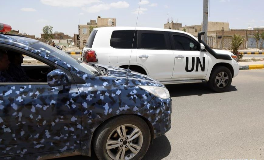 UN envoy arrives in Yemen's capital to push Houthi rebels to implement peace deal