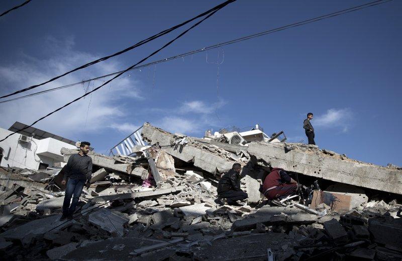 Israeli airstrike kills 3 Palestinians