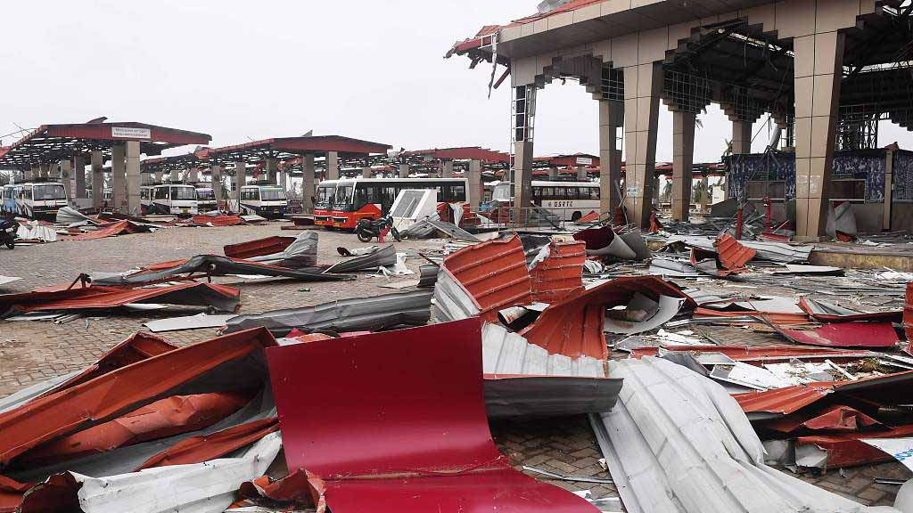 Death toll of Cyclone Fani rises to 33 in Indian state of Odisha