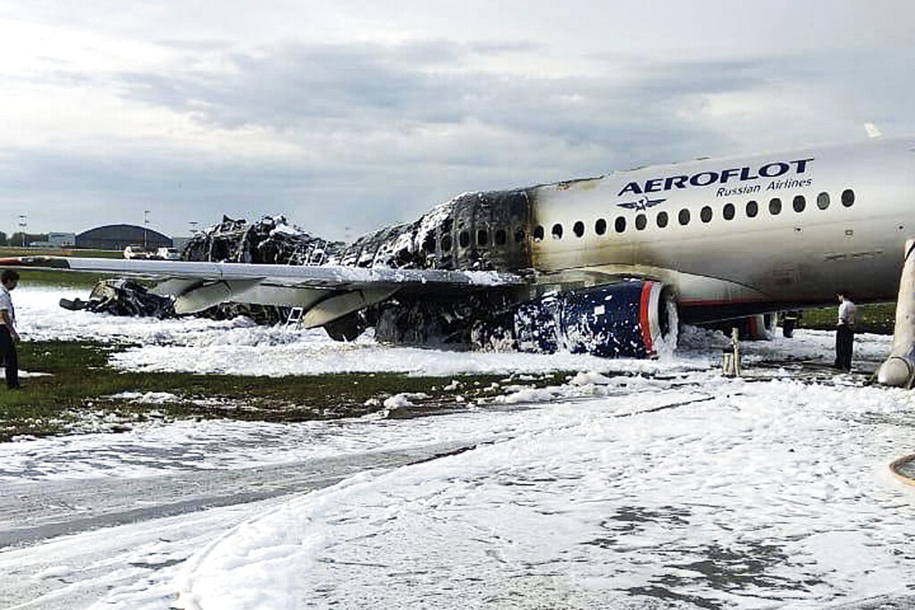41 dead in Moscow plane fire; Experts hunt for reason why