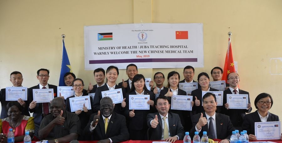 Chinese doctor wins hearts of South Sudanese medics