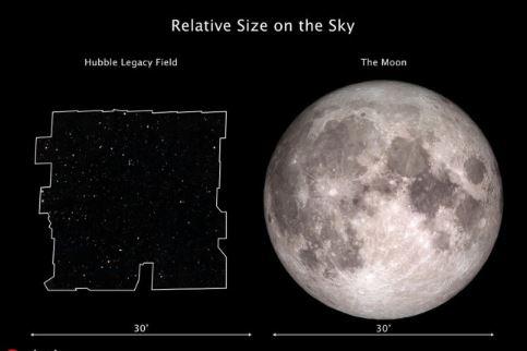 NASA releases combination photo of Hubble exposures