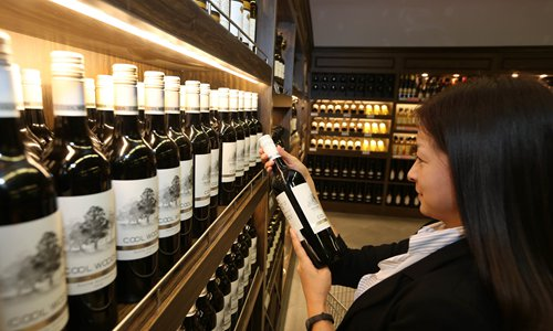 French wine imports fade in China market