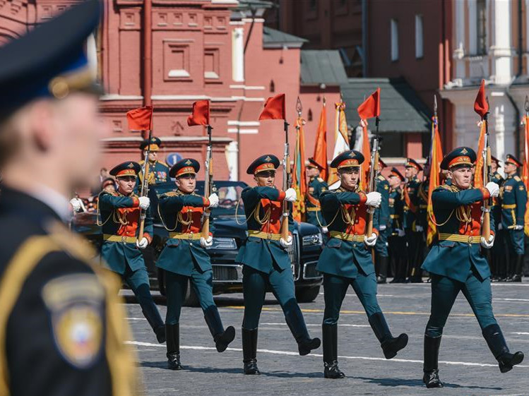 Victory Day parade held in Moscow, Russia