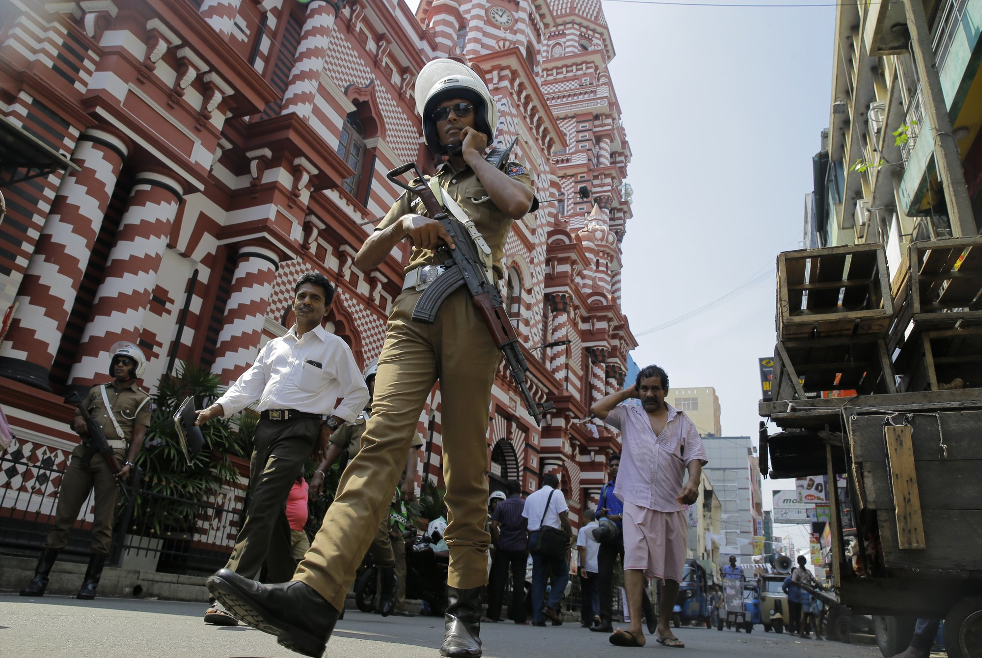 Sri Lankan president: 56 suspects linked to Easter explosions in custody