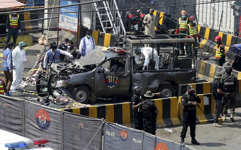 3 killed, 18 injured in blast in Pakistan's Lahore
