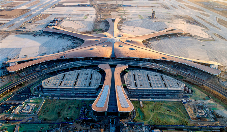 Beijing's new airport gears up to welcome four test flights