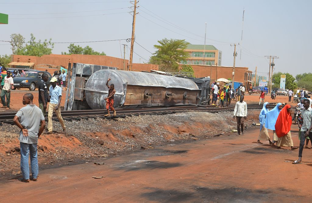 Niger to hold 3 days of mourning for 60 killed in tanker truck blast