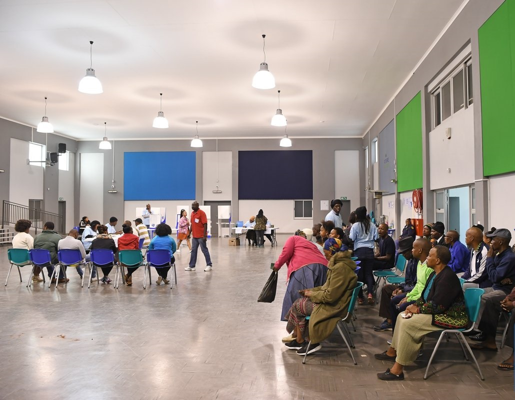 S. African electoral body says voting starts well