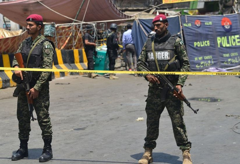Eight killed in suicide attack on police vehicle in Pakistan's Lahore